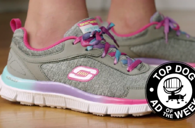 Skechers' Pillow Shoes Entice While Coca-Cola and Walmart Tackle Christmas