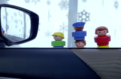 Top 5 Holiday Ads in Luxury and Non-Luxury Auto