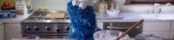 Cookie Monster Strikes Again for Apple