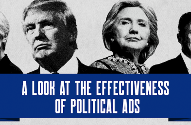 [infographic] Presidential Advertising Hit Parade August 2016