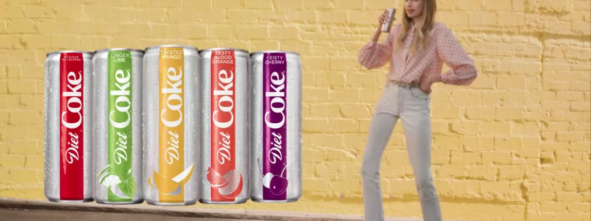 DIET COKE SIZZLES DESPITE SUPER BOWL AD FIZZLE