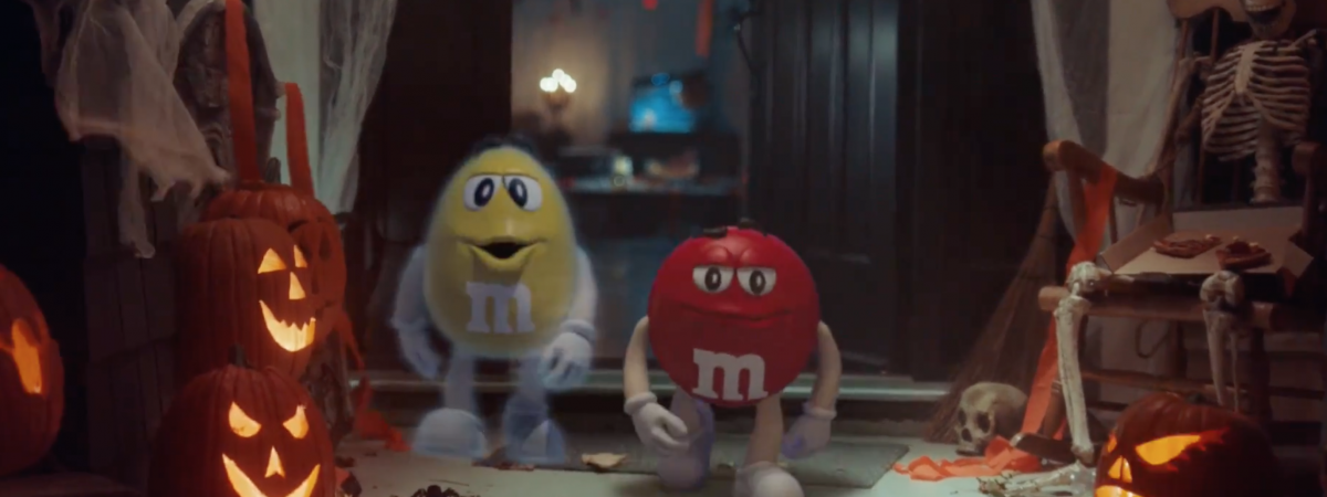 Emo Spotlight: M&M's New Halloween Creative is an Instant Classic
