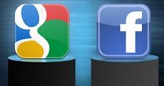 Facebook Google Face-Off