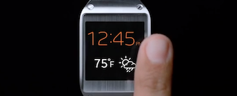 Smart Spots for the Smart Watch