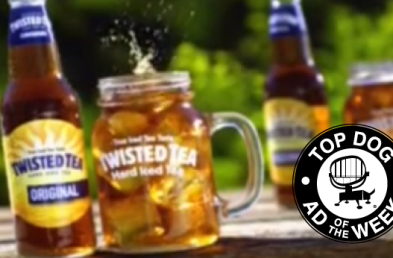 Twisted Tea and Olive Garden Squeeze High Scores Into This Week's Ads of the Week