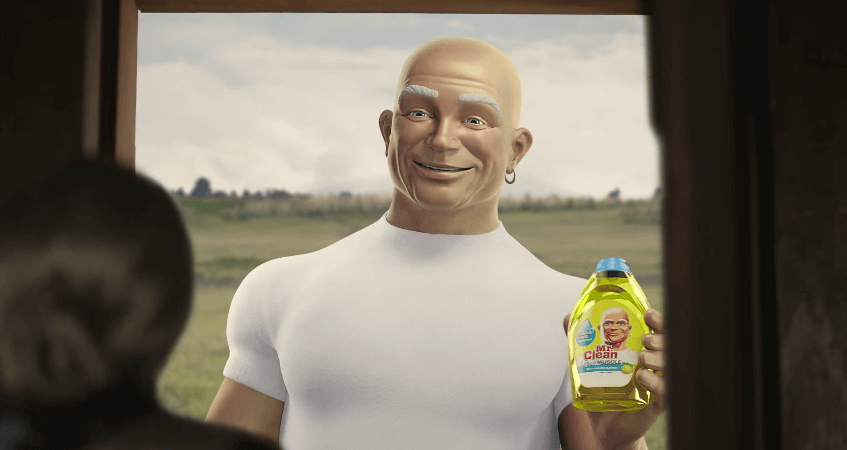 3 Reasons We Find Mr. Clean So Attractive
