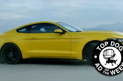 Ford Births a New Mustang While Hoover Cuts the Cord