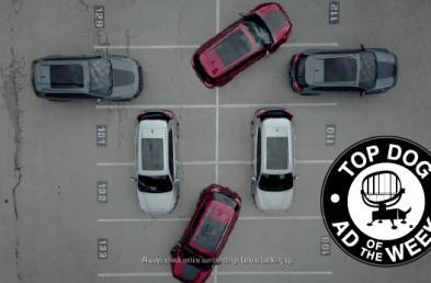 Jeep Double Parks in This Week's Ad of the Week