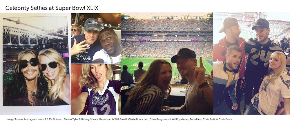 Super Bowl Celebrity Selfies