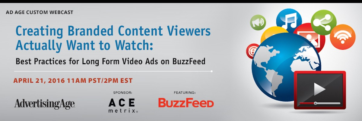 Webinar: Creating Branded Content Viewers Actually Want to Watch