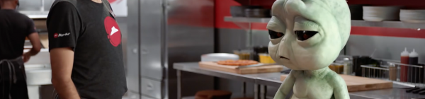 Ad of the Week — Pizza Hut's Homesick Alien Breaks the QSR Mold
