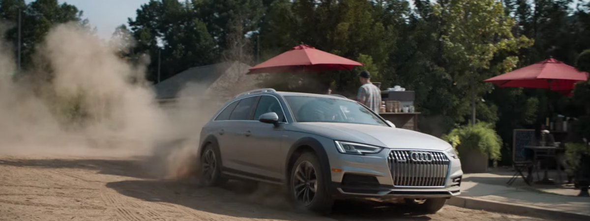Audi gives the 'Sunday Drive' a modern twist